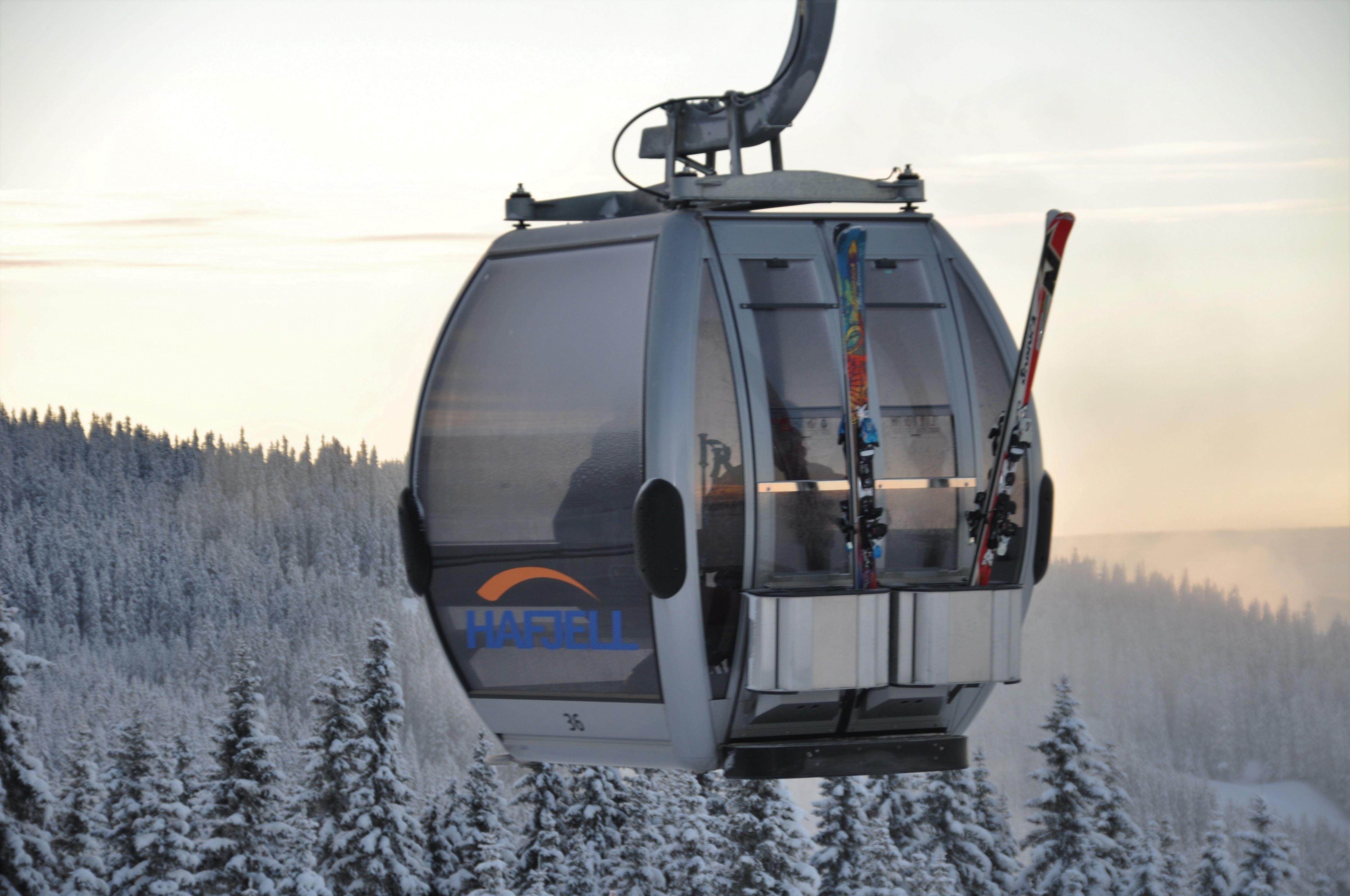 The Gondola in Hafjell Bike Park
