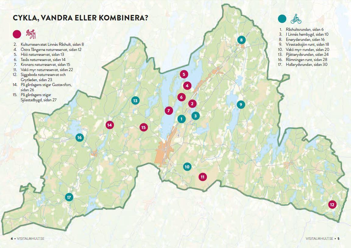 Cykla och Vandra i Älmhults kommun