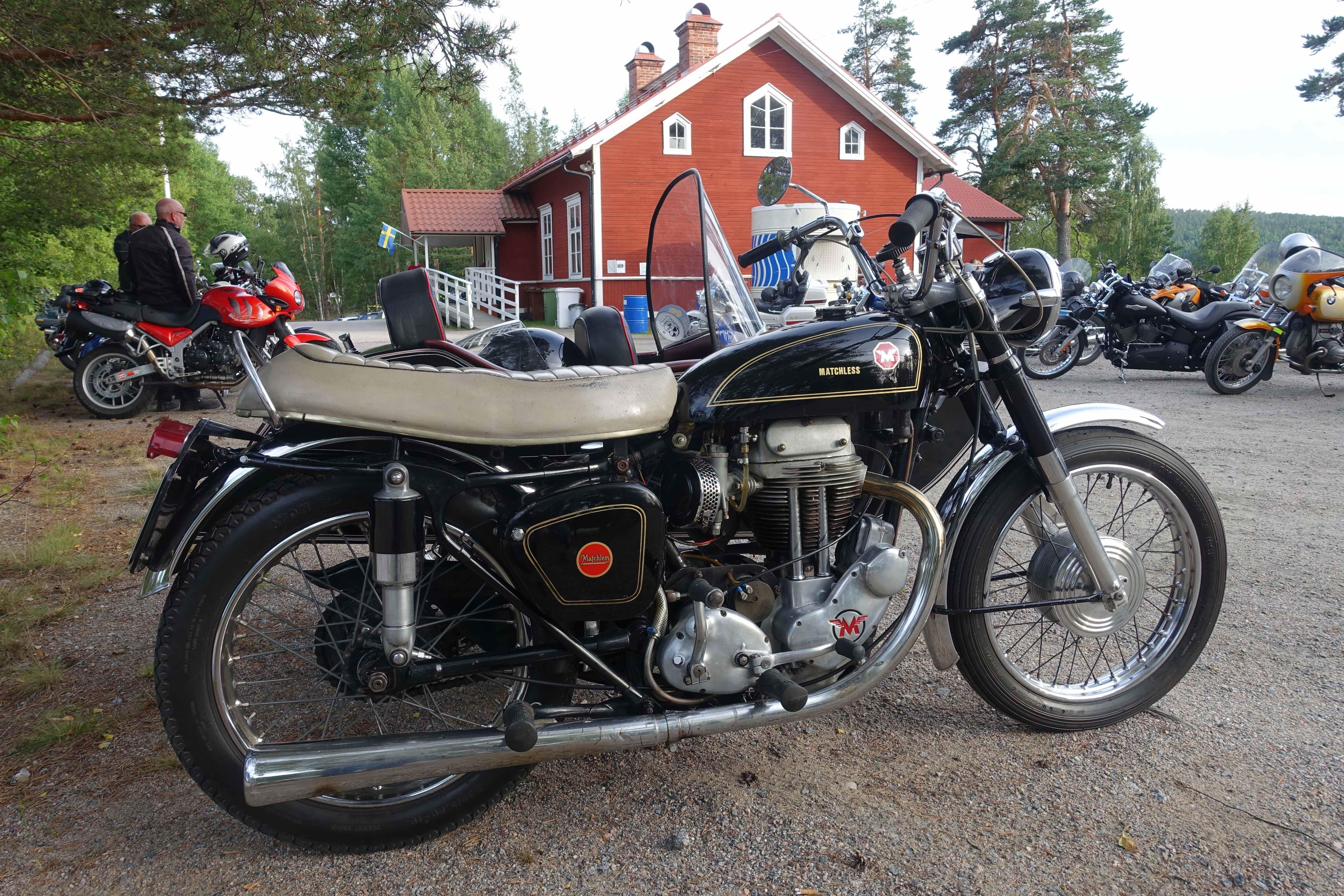 Tomas Eriksson, Motorcykelträff och uppvisning