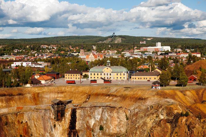 Kopparprojektet och Världsarvet Falun