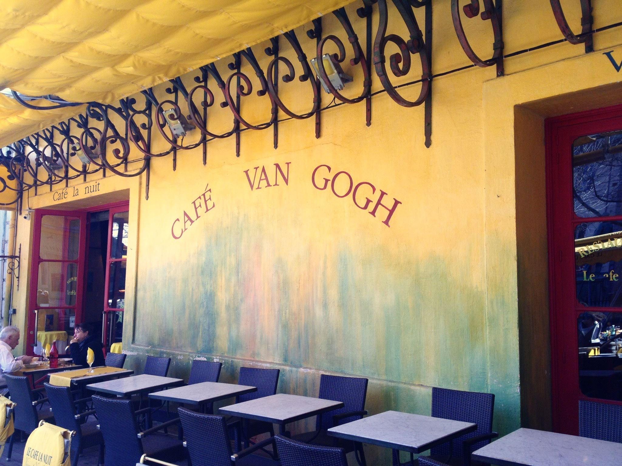 La Provence de Cesar et Van Gogh