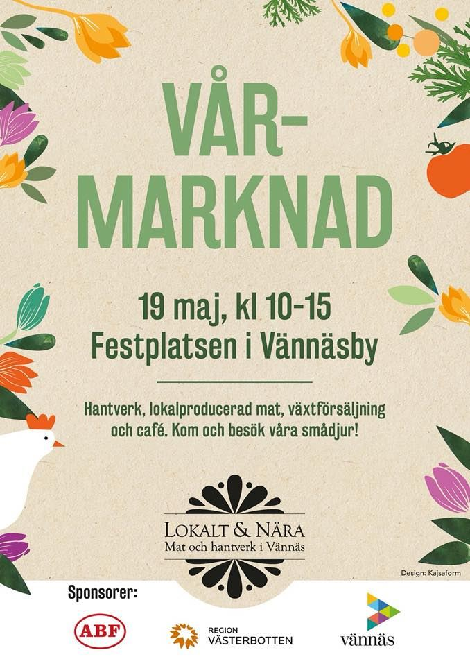 Lokalt och Nära - vårmarknad