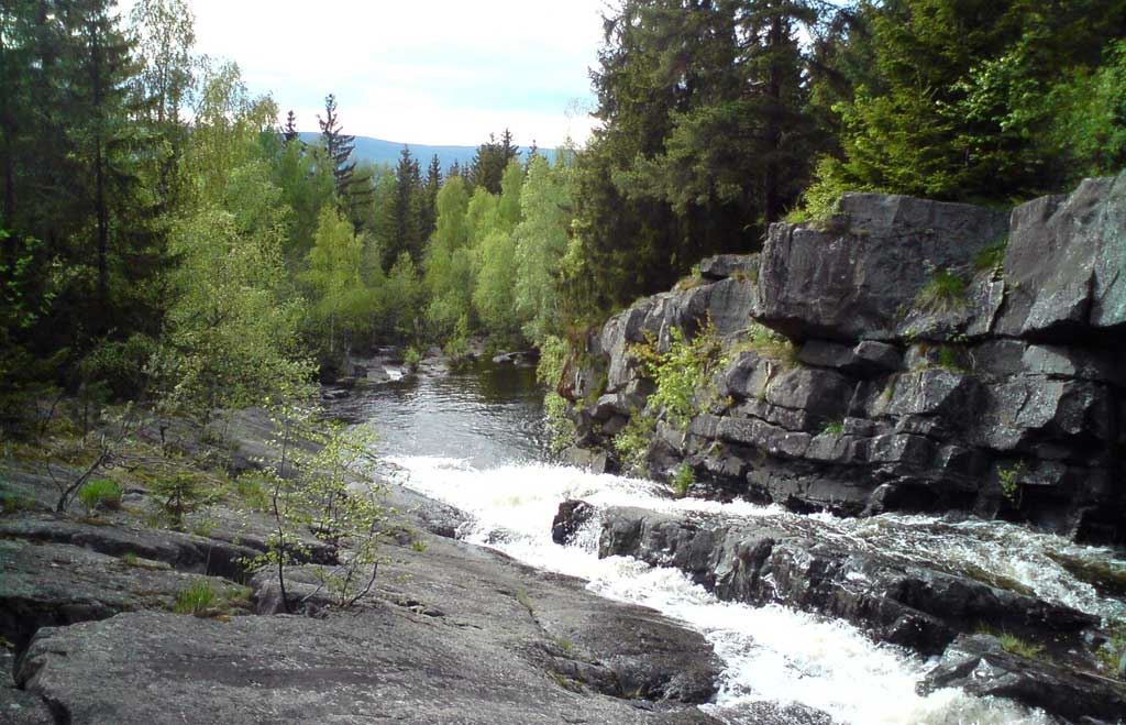 Walking in the Lillehammer area, Norway