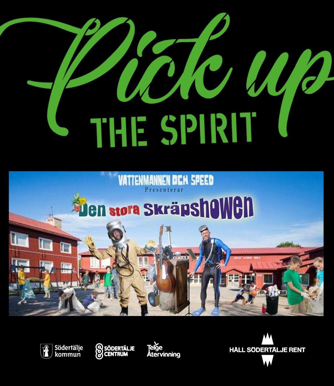 Pick up the spirit!