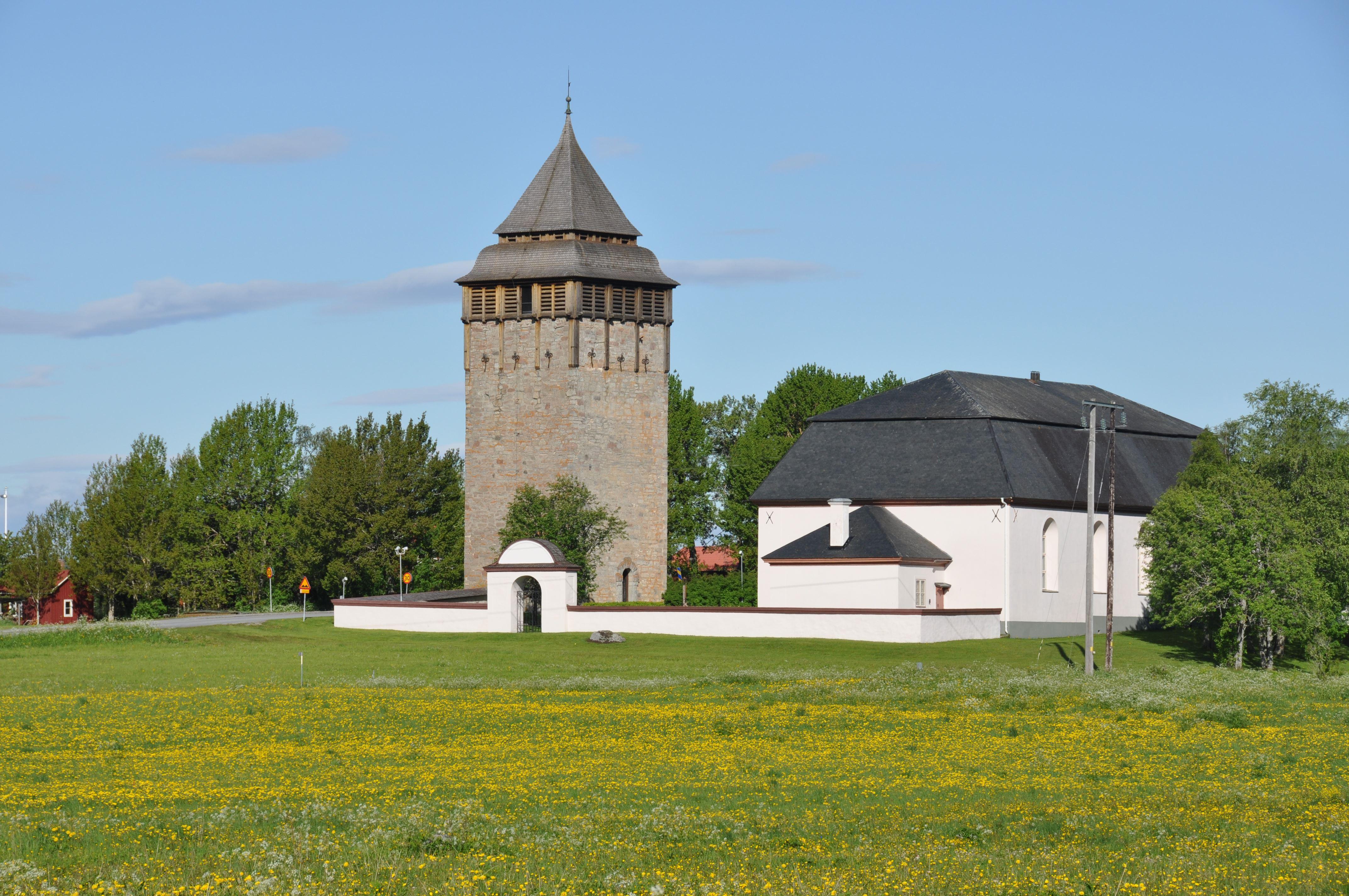 Brunflo Church & Defense Tower