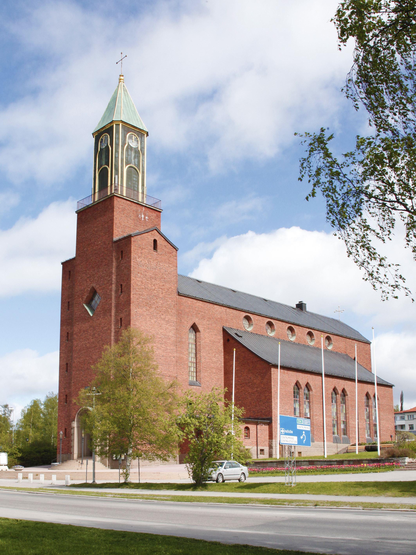 © Svenska kyrkan Östersund, Stora kyrkan