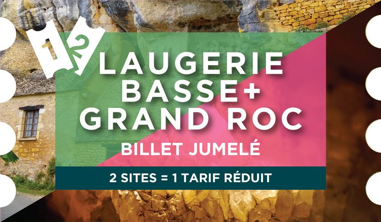 JUMELÉ : GRAND ROC + LAUGERIE-BASSE