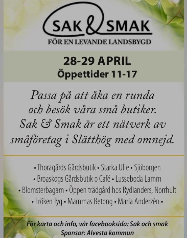 Sak & Smak