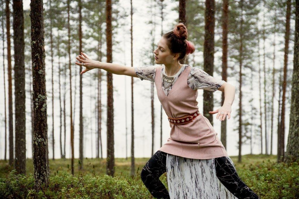 Katarina Barruk med musiker