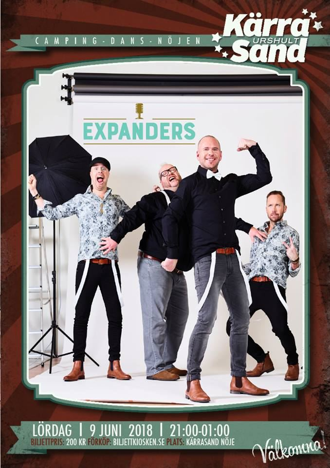 Dance at Kärrasand: Expanders
