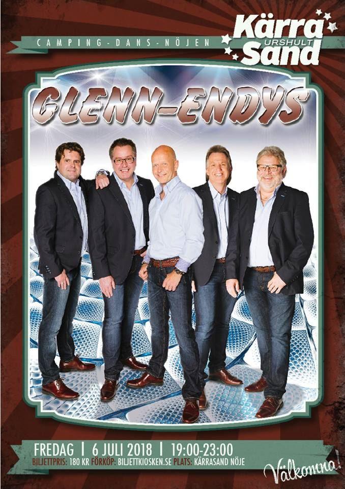 Dance in Kärrasand: Glenn-endys