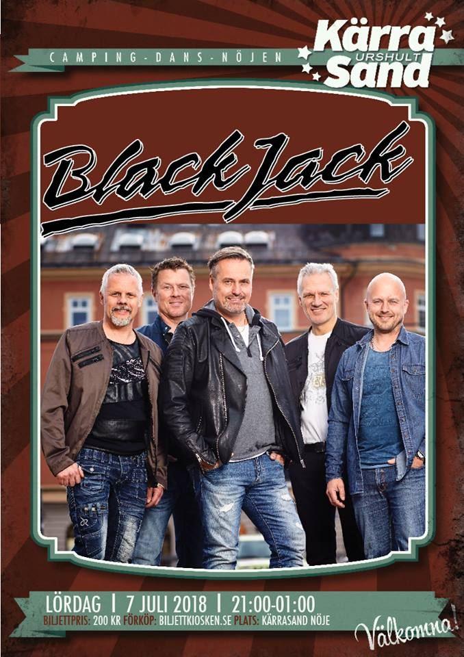 Dance in Kärrasand: Black Jack