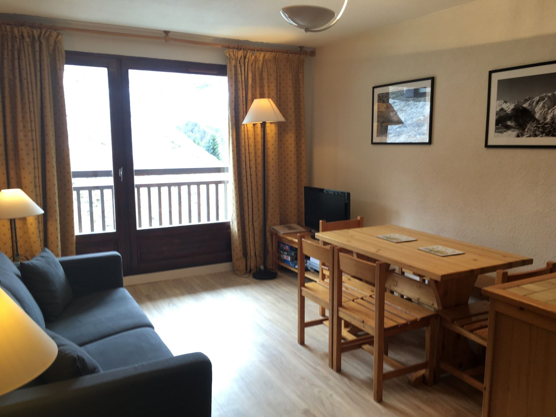 2 Rooms cabin 4 Pers 150m from the slopes / MURGERS 6