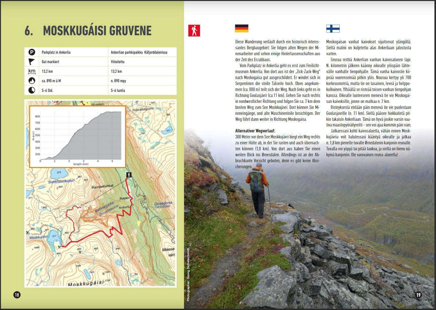 Hikingguide - 25 hikes in the Lyngenfjordregion