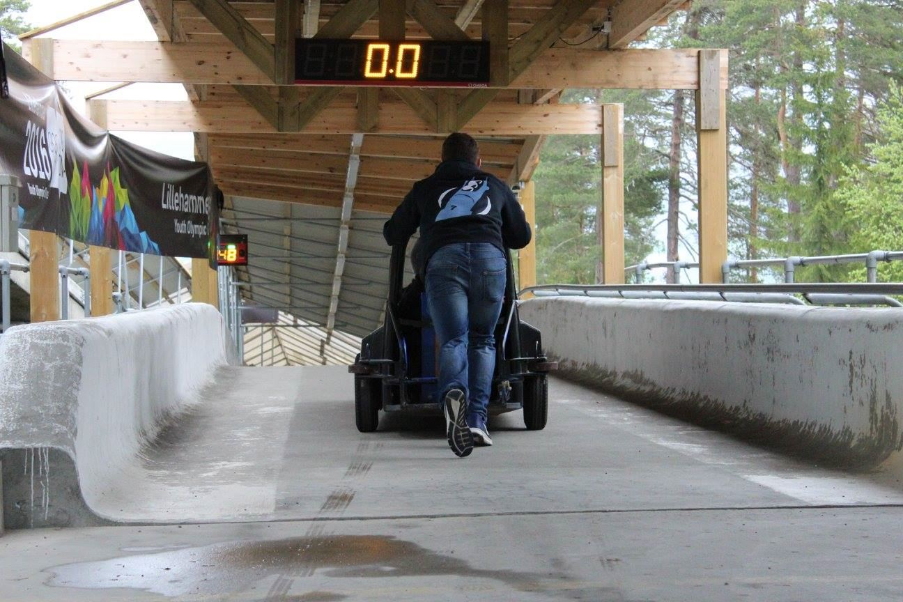 Lillehammer Olympic Bob and Luge track