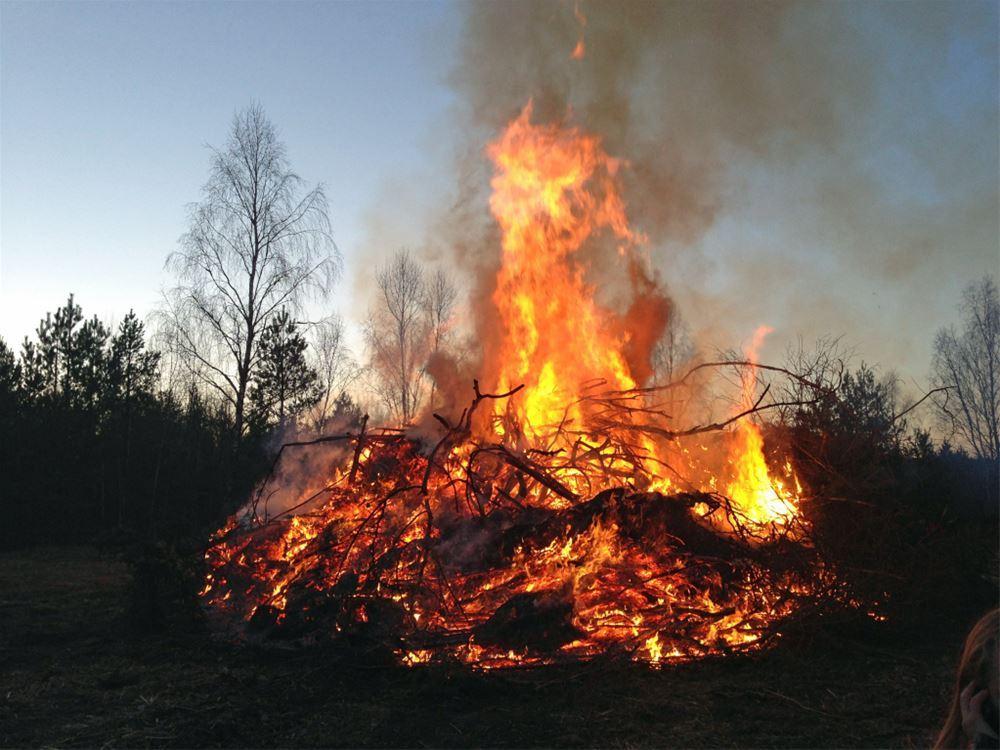 Valborgsfirande vid Nissagården