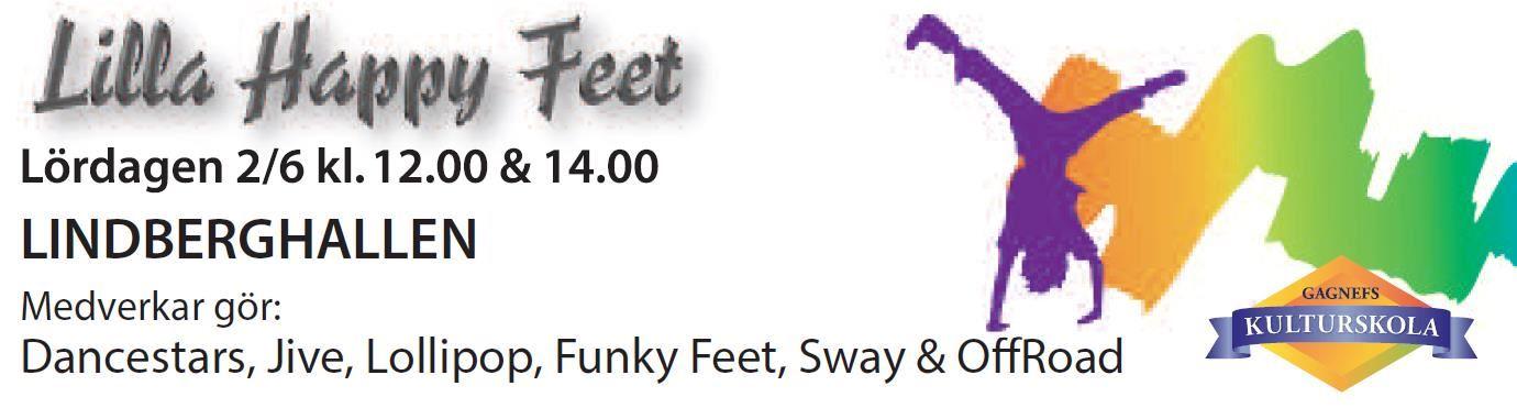 Lilla Happy Feet