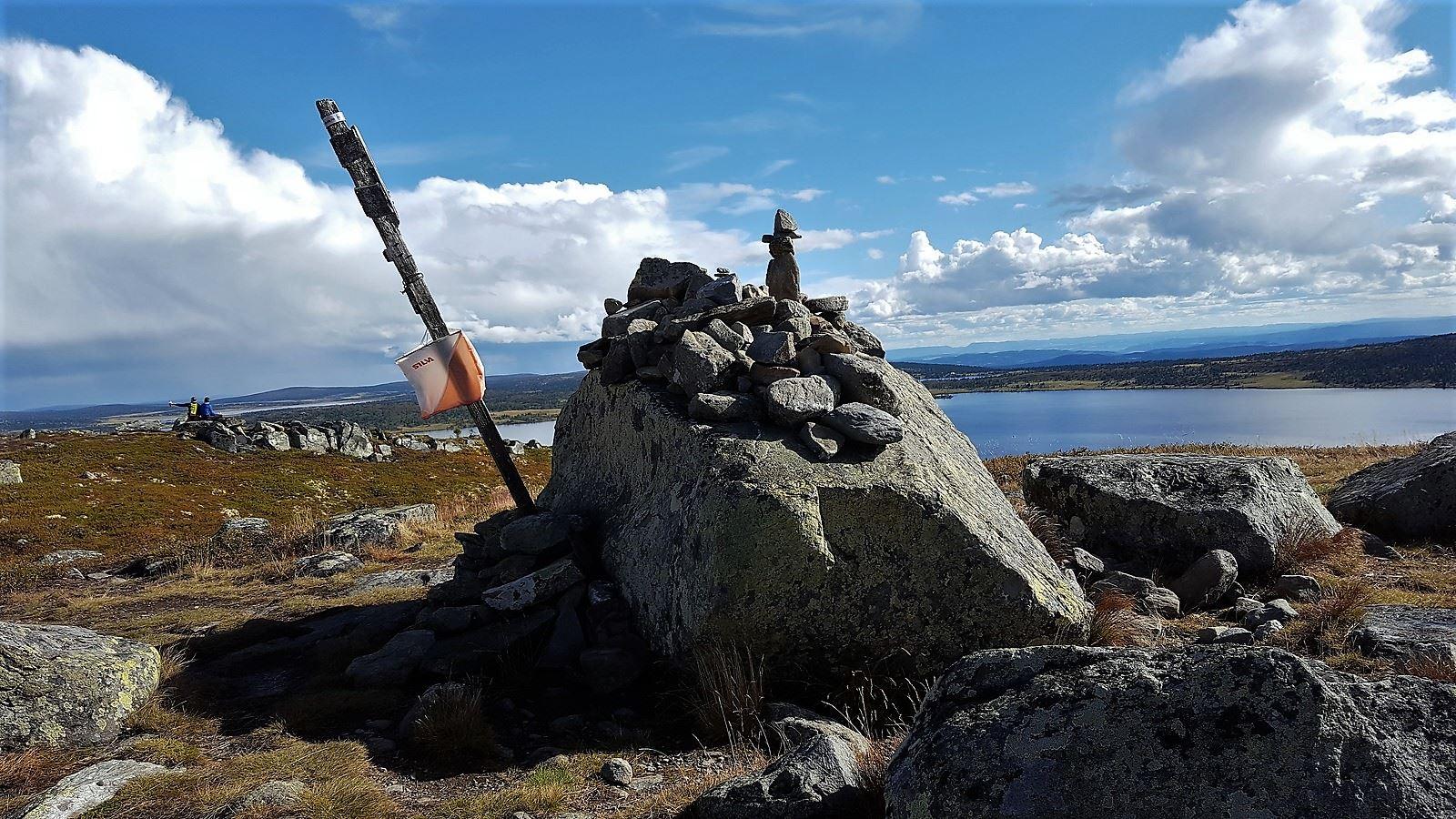 Fishing on the mountain