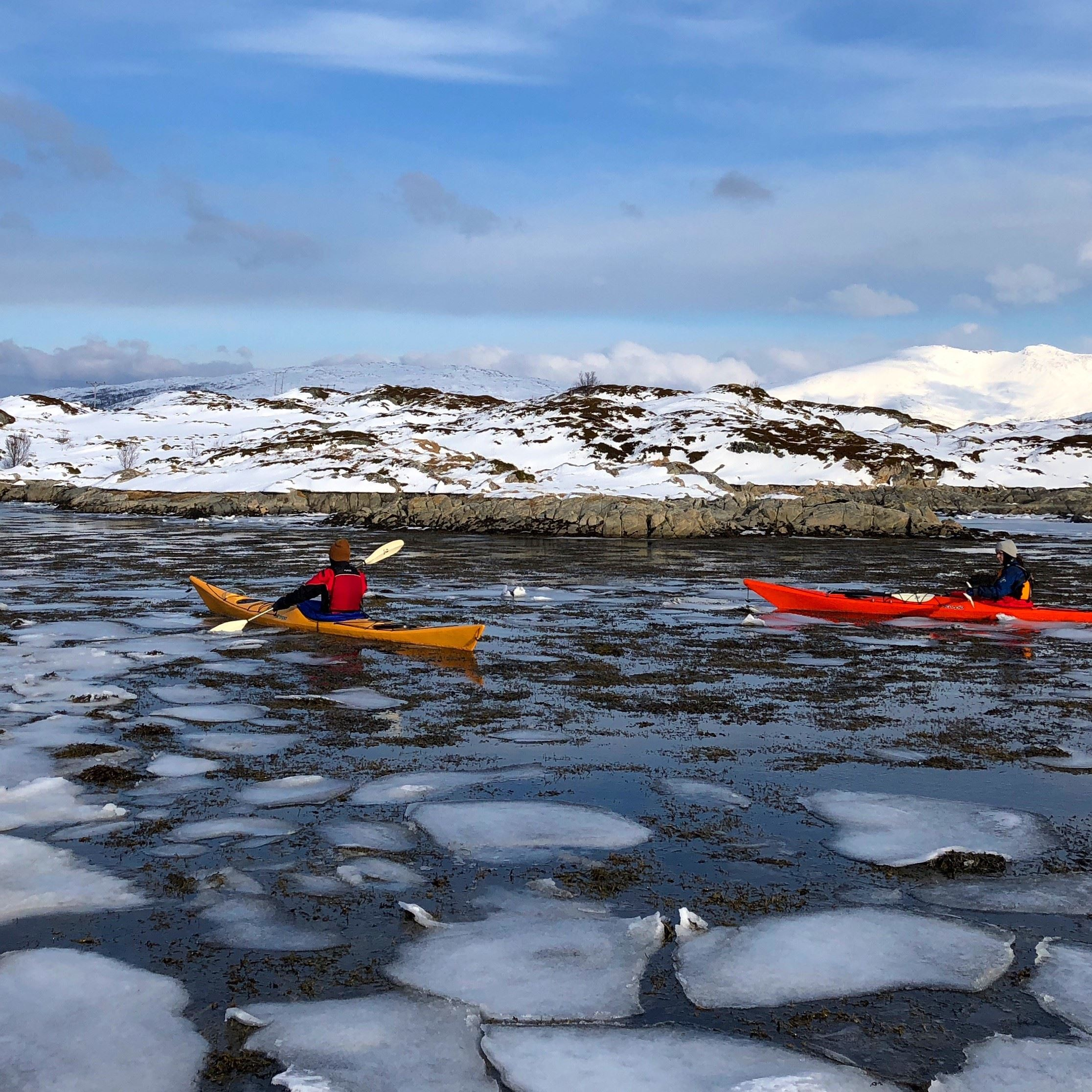 3 Day Arctic Camp with winter kayaking - Elements Arctic Camp