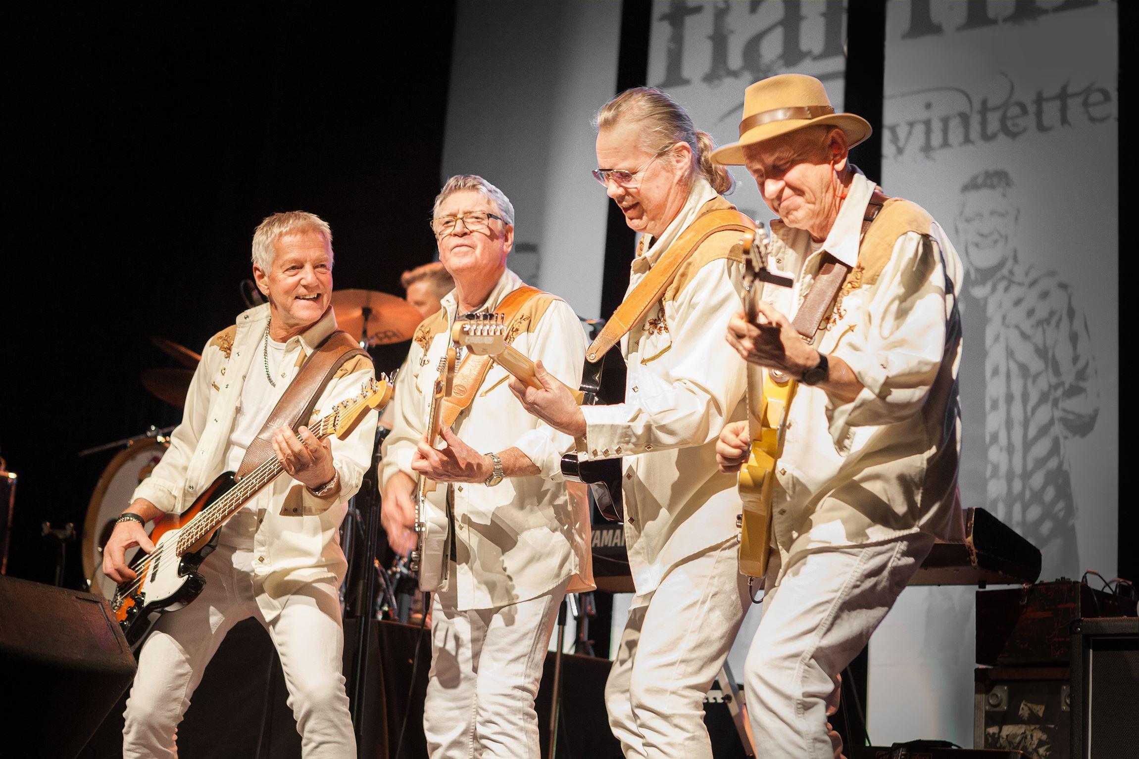 Musik: Flamingokvintetten - The boys are back in town