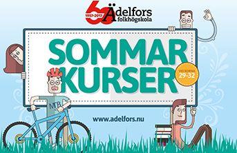 Sommarkurser på Ädelfors folkhögskola