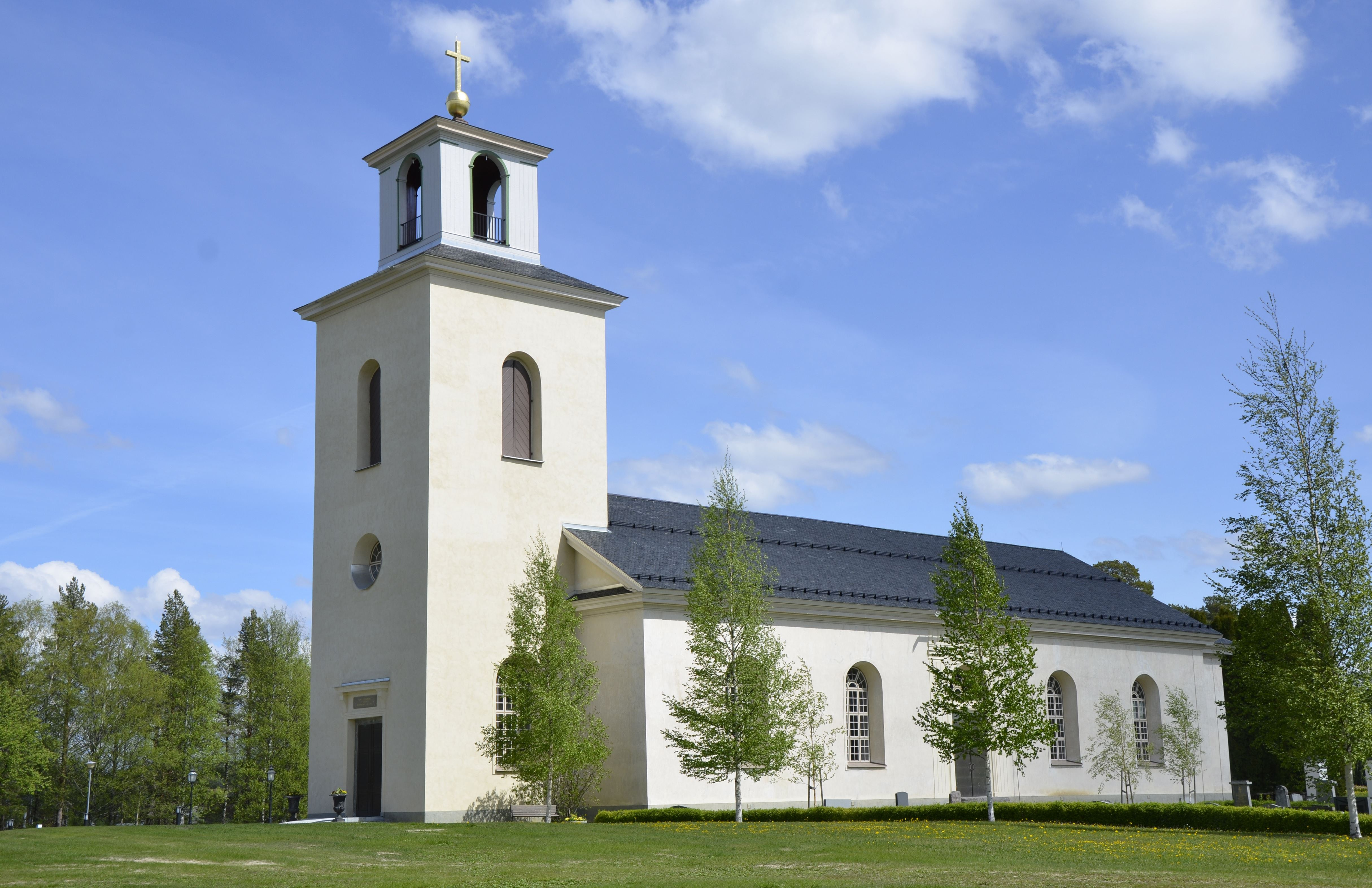 Hans Asp,  © Hans Asp, Sunne Church