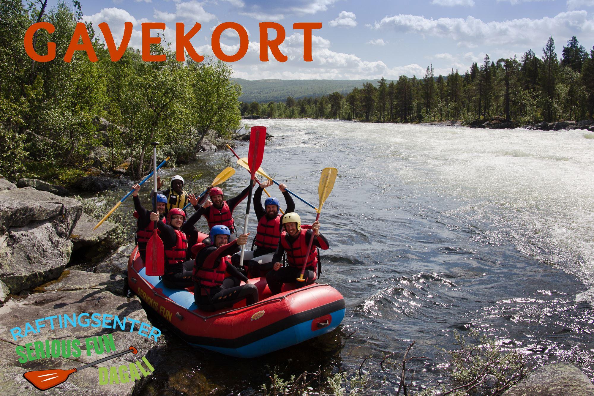 Gavekort Rafting
