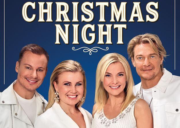 Foto: Christmas Night Sangré Event,  © Copy: Christmas Night Sangré  Event, 4 artister som uppträder under Christmas Night