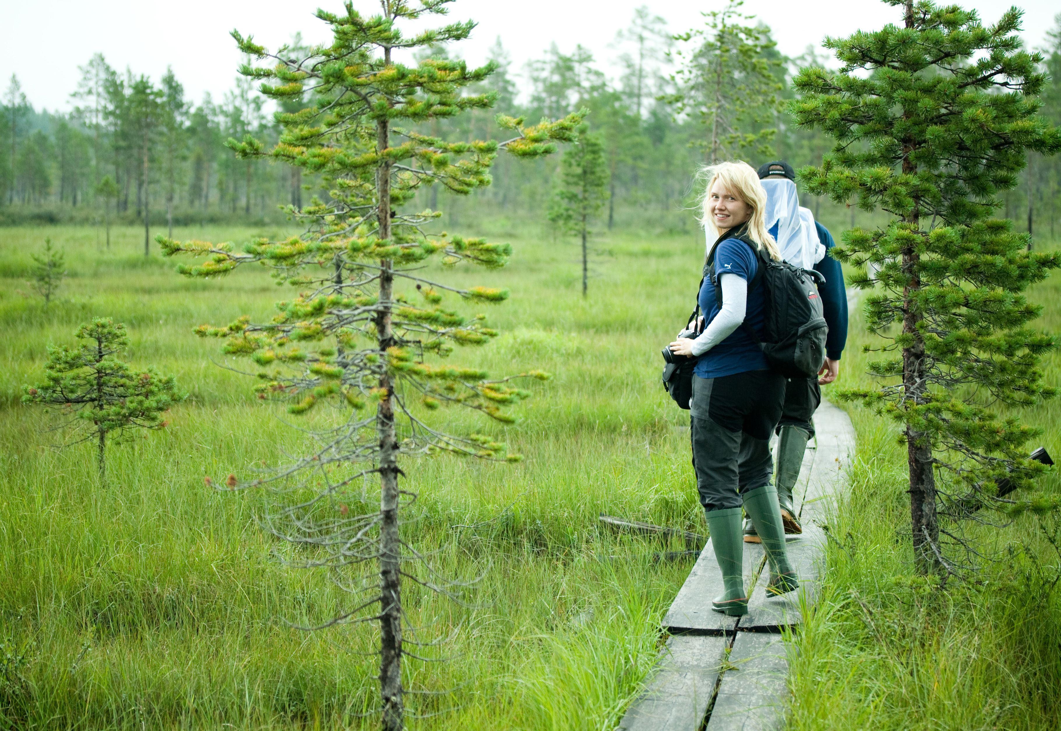 Malin Hedman,  © Malå kommun, Nybörjarkurs i orientering