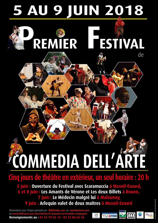 LES AMANTS DE VERONE ET LES DEUX BILLETS, mercredi 6 et vendredi 8 juin (Festival Commedia Dell'Arte)