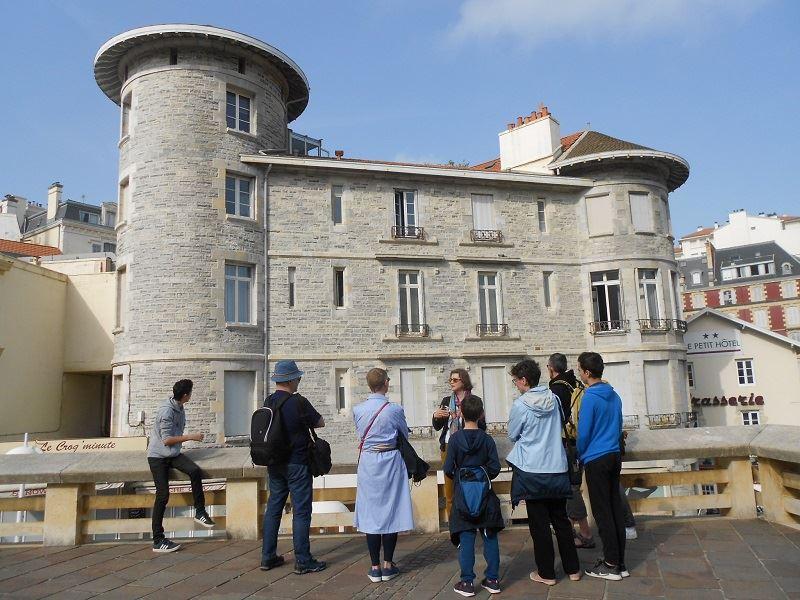 Visite guidée : Biarritz au fil du temps