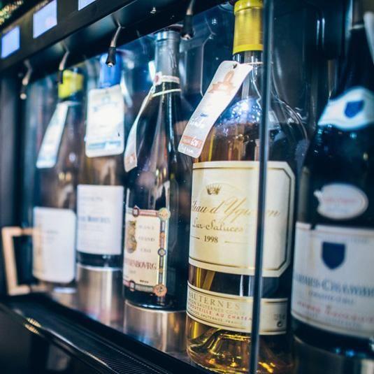 The wine flight