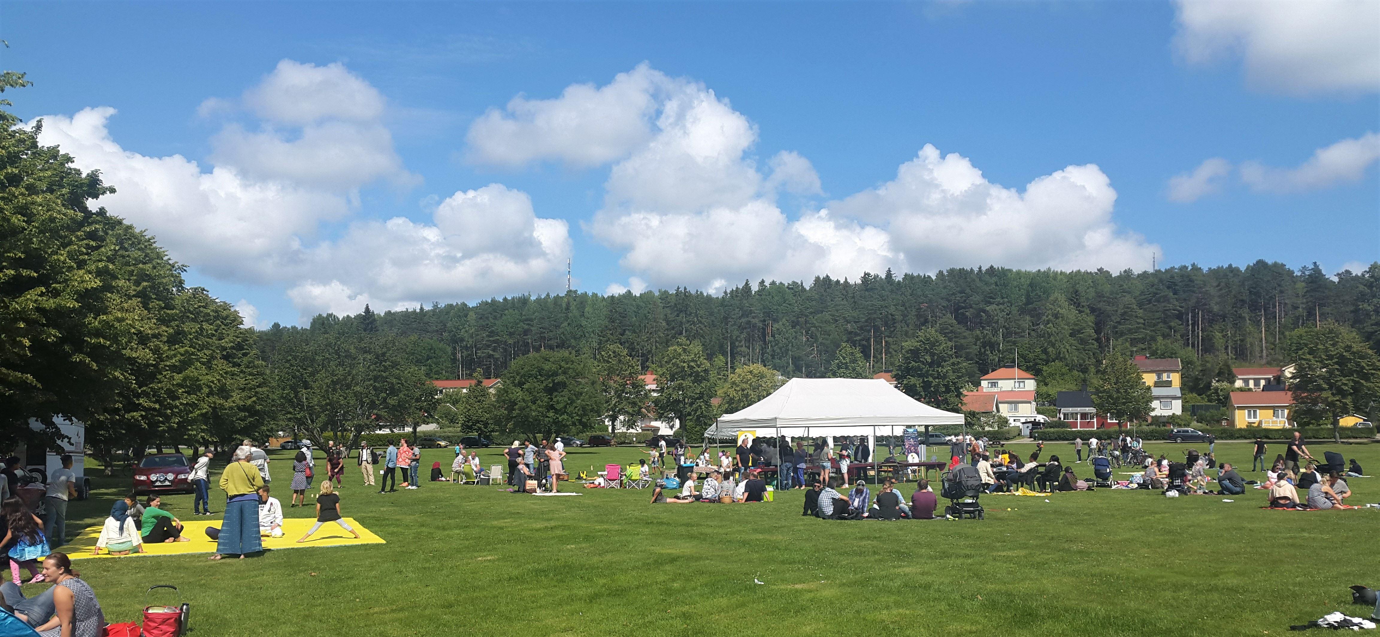 Sommarfest med Hudik mot rasism!