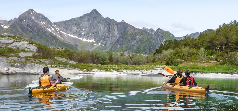 © Lofoten Aktiv, Kayak trip- Half day with Lofoten Aktiv