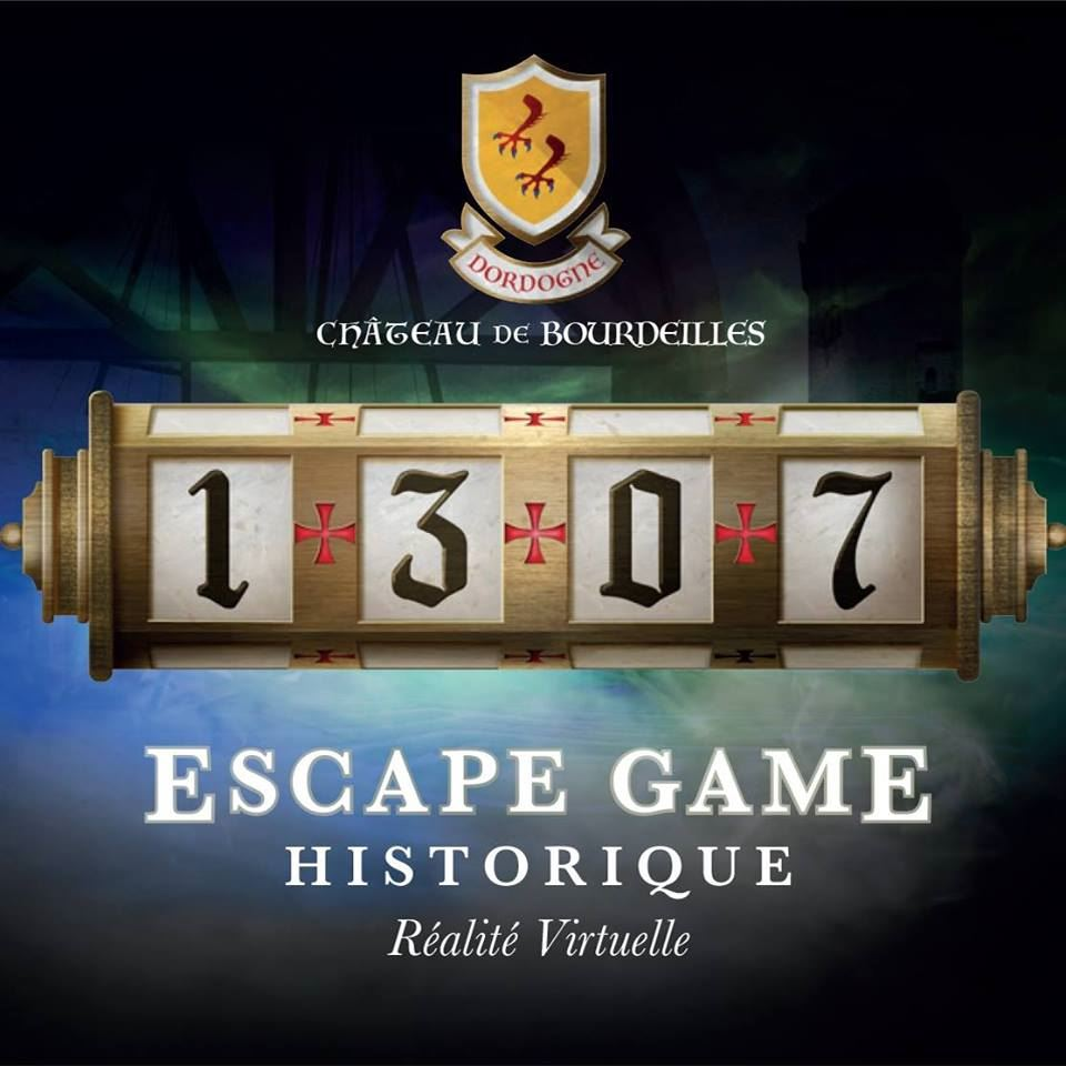 Escape Game virtuel au Château de Bourdeilles