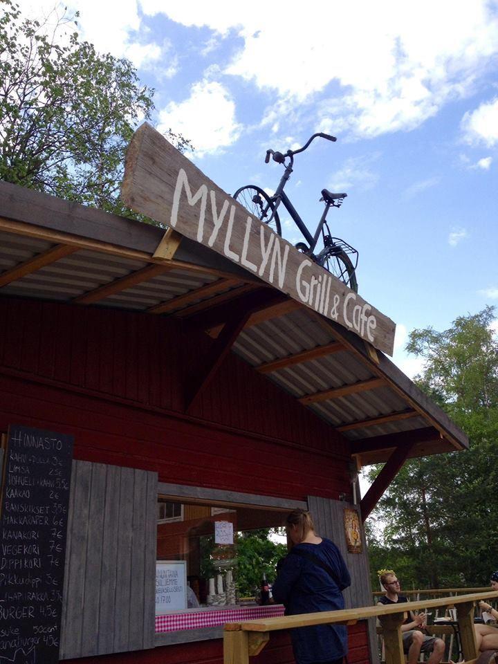 Vuolenkoski village | Myllyn Grill&Cafe