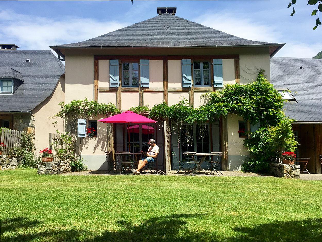 AGRT04- Les Chalets d'Arrens-Chalet mitoyen 6 personnes