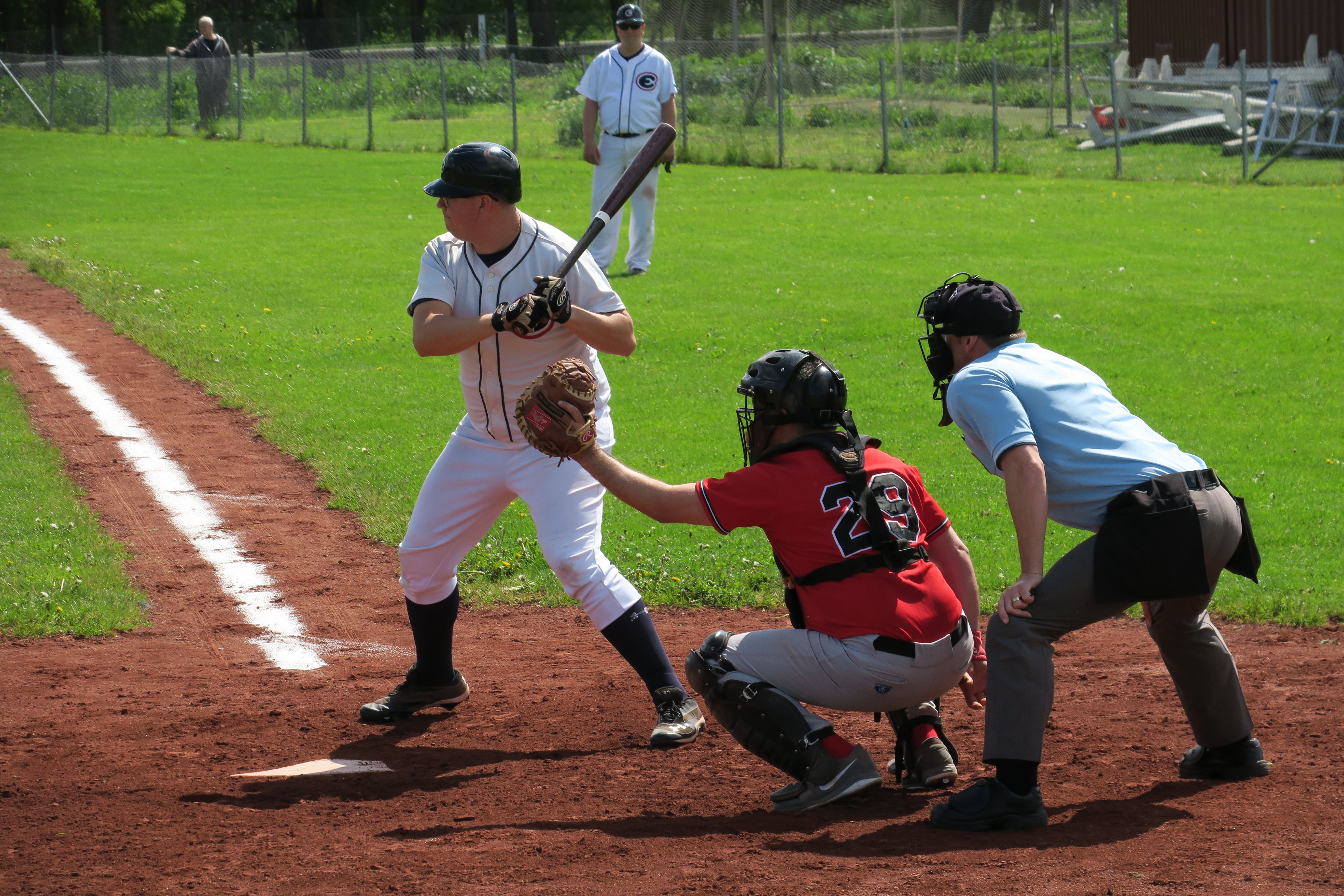 Baseboll hemmamatcher mot Stockholm och Skellefteå