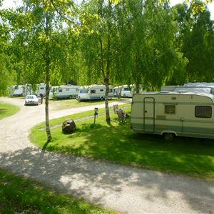 Håkan Harasjömåla,  © Harasjömåla, campingplatsen på Harasjömåla fiskecamp
