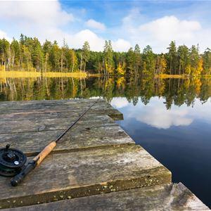 Piotr Wawrzyniuk,  © Harasjömåla Fiskcamp, Harasjömåla fishingcamp