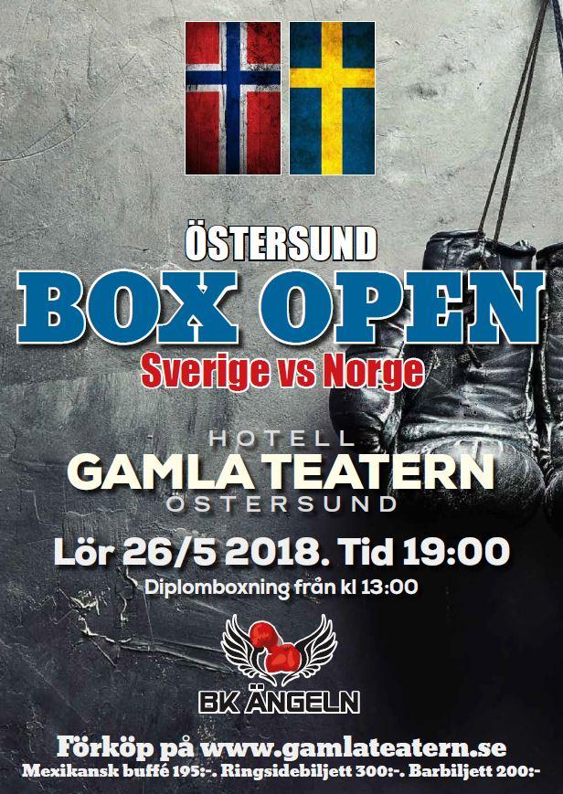 © BK Ängeln, Östersund Box Open