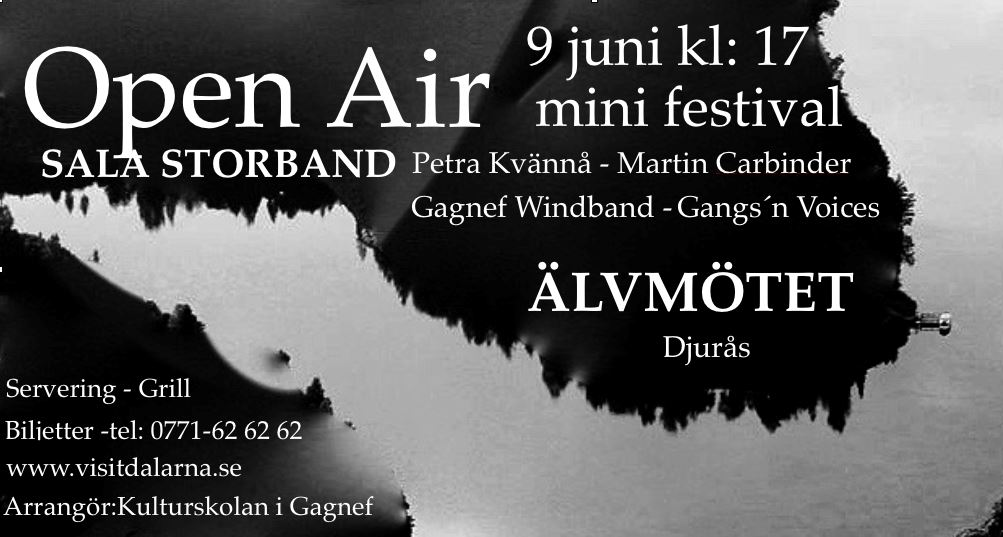 Open Air med Sala Storband m.fl