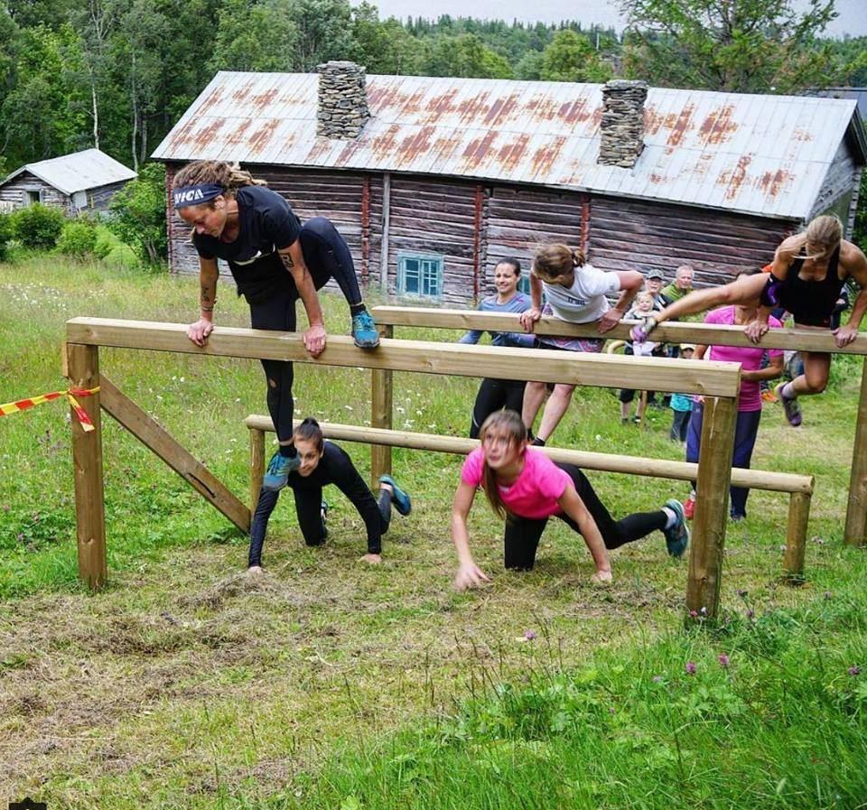Fjällfysiken Obstacle Course | Hinderbanetävling i Ottsjö