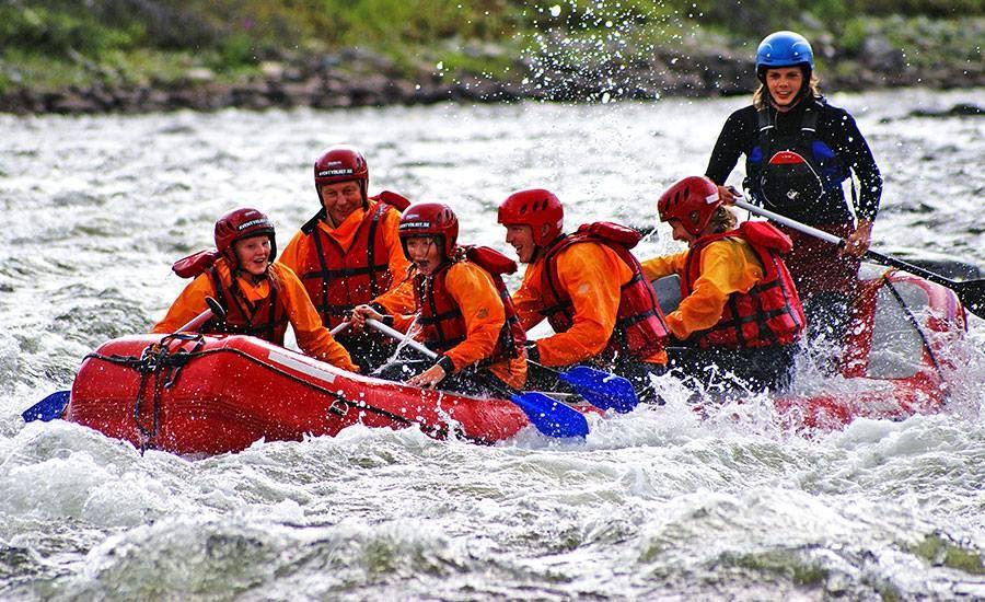 Rafting i Åre