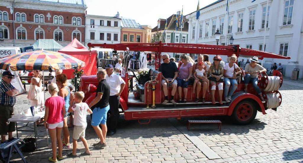 Ystads fbc,  © Ystads fbc, Auf Spurensuche im alten Feuerwagen in Kommisar Wallanders Revier in Ystad