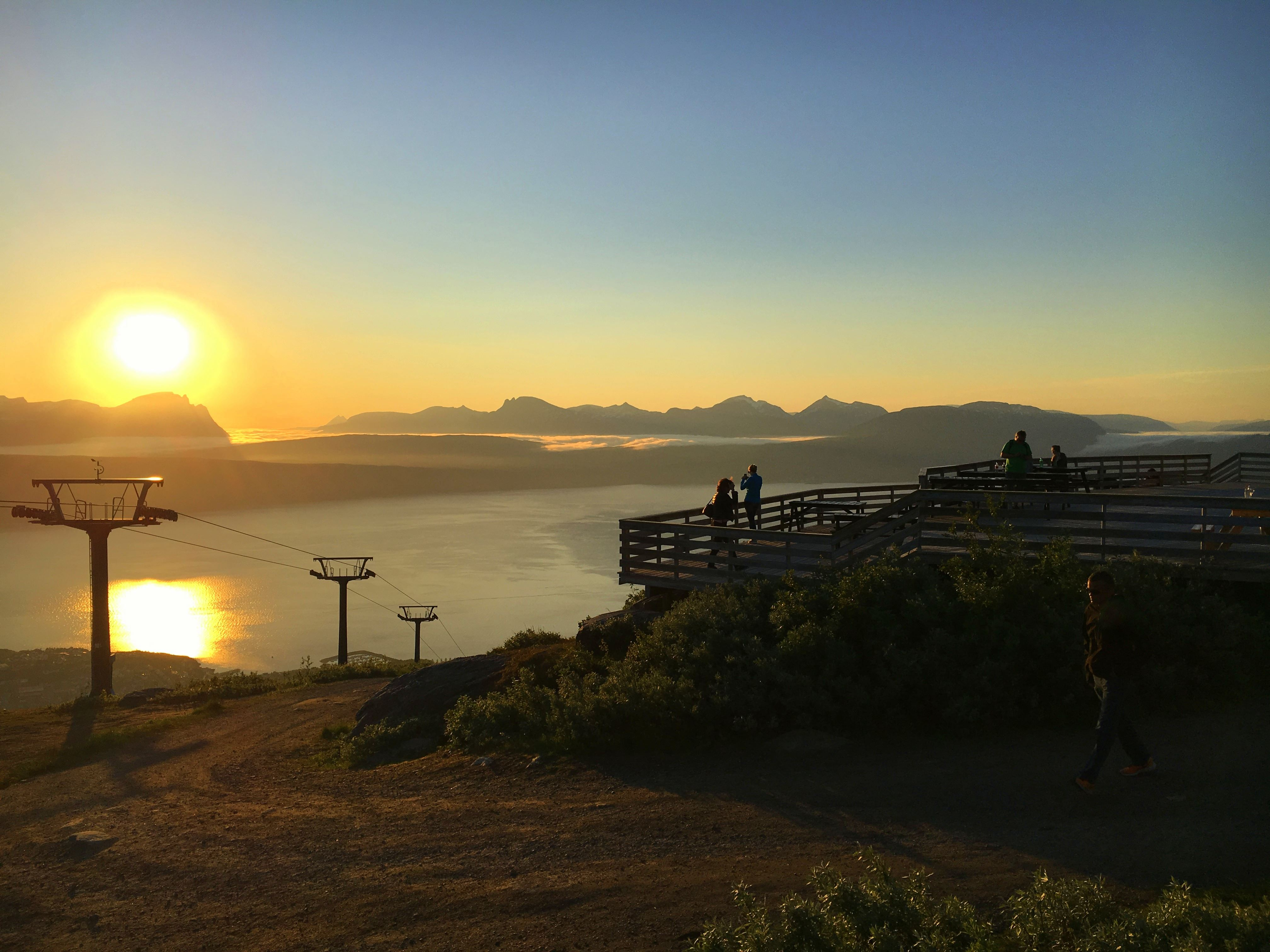 Gondolbanen i Narvikfjellet