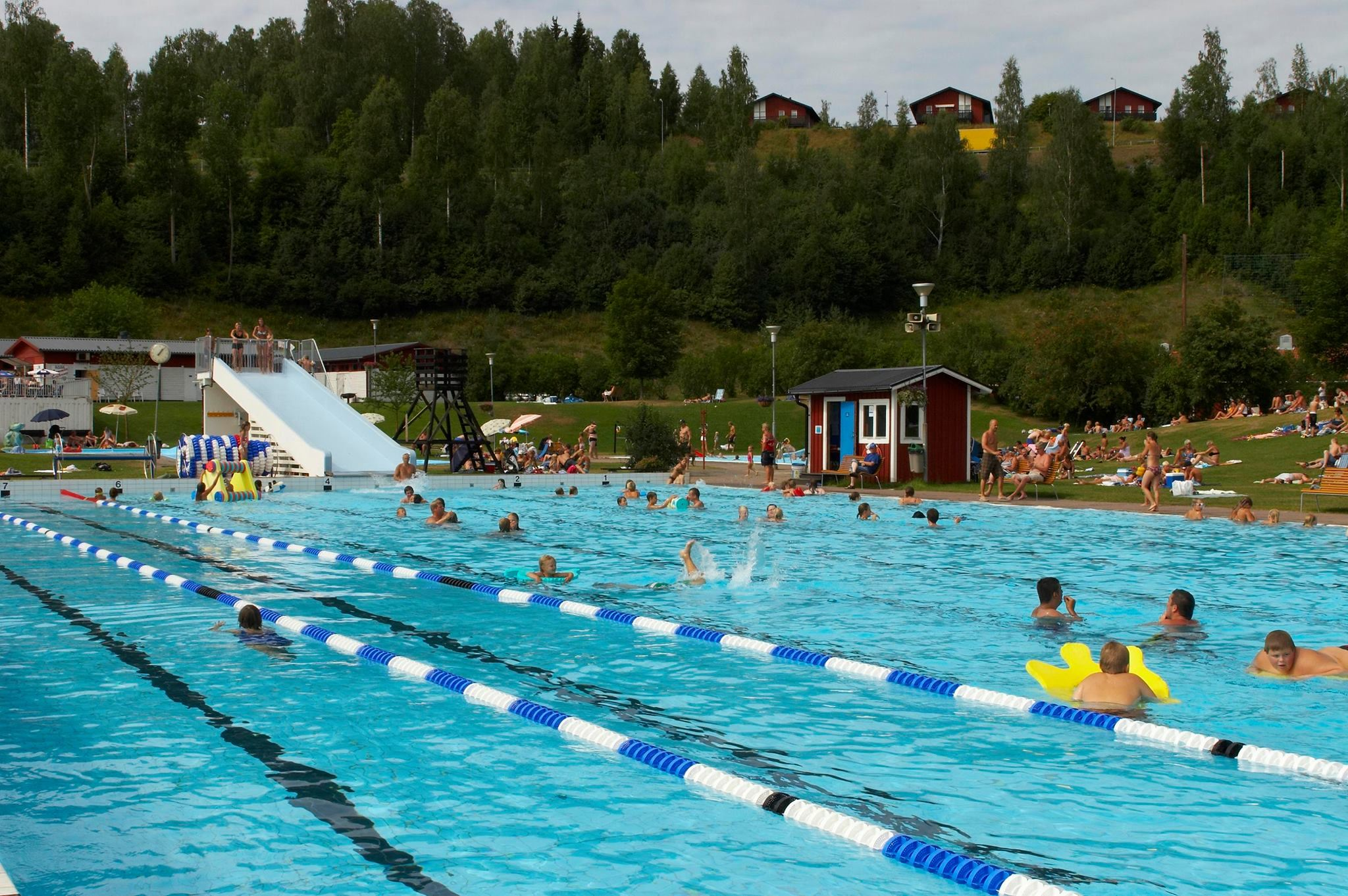 Poolparty: 40årskalas