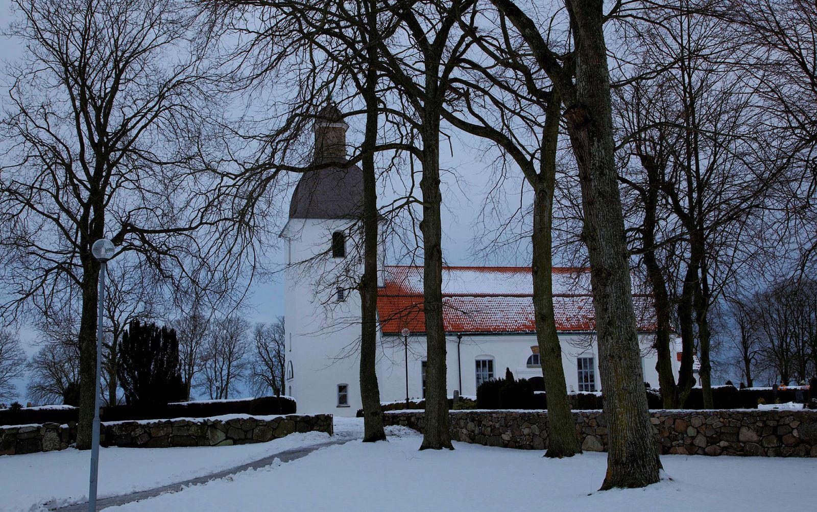 Jonte Göransson, Mjällby Kirche