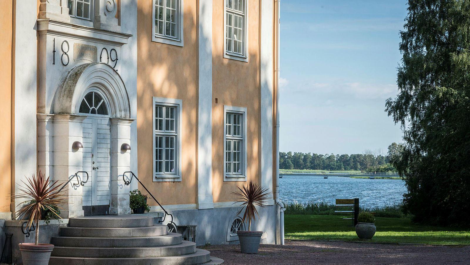 Bertil Knoester, Sölvesborgs Schloss - Corps de logi
