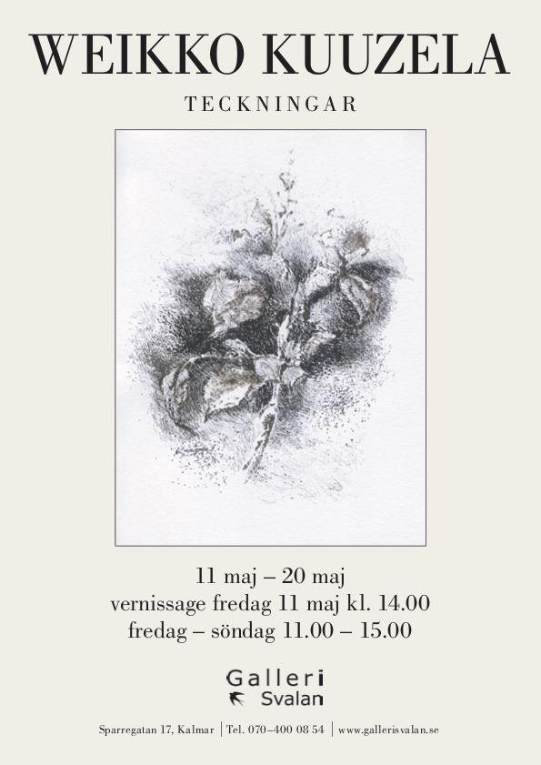 Utställningar på Galleri Svalan